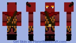Vesh, Messenger of Nethara - The Story OC ~Ὠκεαν~ Minecraft