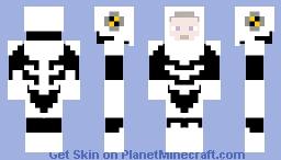 armored astronaut Minecraft Skin