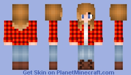 -Autumn girl- Minecraft Skin