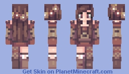 Autumn Sweater Minecraft Skin