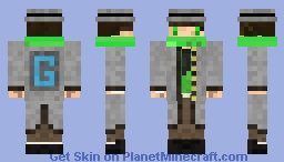 _Azzy GameGods Outfit Minecraft Skin