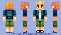 Beach Boy Minecraft Skin