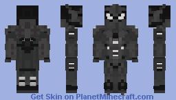 Armored Spiderman (Symbiote) Minecraft Skin