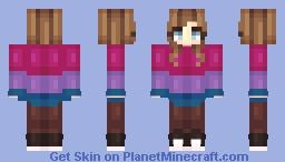 bi visibility day Minecraft Skin