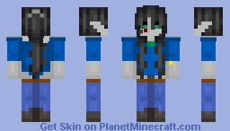 """Emotions are nothing more then a inconvenience-"" Updated 9/23/16 Minecraft Skin"