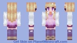 welcome to the ahoge club Kaede Minecraft Skin