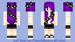 For BudderChar :) Minecraft Skin