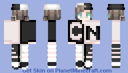 A Cartoon Network Fanboy Minecraft Skin