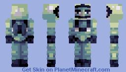 grumpy spaceman | pbl s18 w2 Minecraft Skin