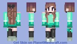 kittu『 mint 』 Minecraft Skin