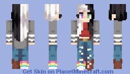Duality | ST w/ Unxverse Minecraft Skin