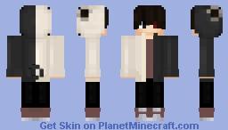 Kaneki ☯ Minecraft Skin