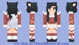 Ahri - League of Legends Minecraft Skin