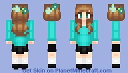 Feelin' Blue Minecraft Skin