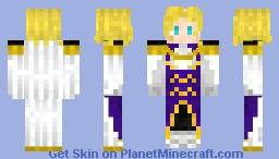 Clovis La Britania ( Code Geass ) Minecraft Skin