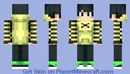 Gamer [UPDATED] Minecraft Skin