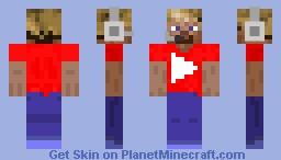 YouTuber Minecraft Skin