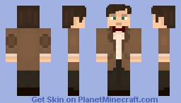 [Doctor Who] The Eleventh Doctor - Remastered! Minecraft Skin