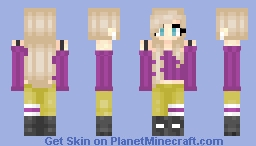 Matching Girl #1 Minecraft Skin