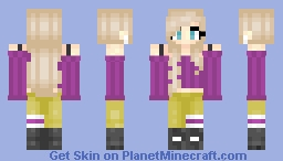 Matching Girl #1 [Steve Model] Minecraft Skin