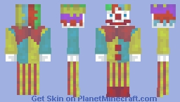 Clown (Spooky clown sightings) [This Year On Earth] Minecraft Skin