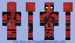 Deadpool | Movie Minecraft Skin