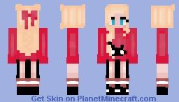 First girl skin! x3