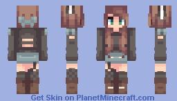Bulli ||New OC|| Minecraft Skin