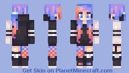 Ombré Hoodie Minecraft Skin