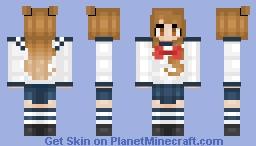 School Girl #2 [Steve Model] Minecraft Skin