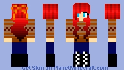 Autumn's Love Minecraft Skin