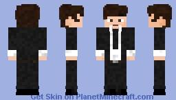 Paul McCartney Minecraft Skin