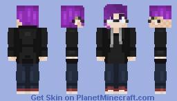 Miss Purple Minecraft Skin