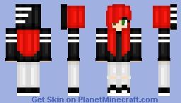 Skylar Red (Reshaded) Minecraft Skin