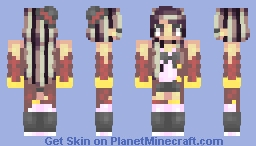 Welcome to the Show Minecraft Skin