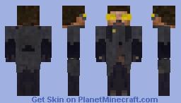 Adam Jensen (Deus Ex : Mankind Divided) Minecraft Skin