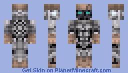 Atom [Real Steal] Minecraft Skin