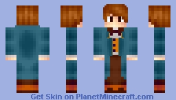 ✖ ~ Fantastic Beasts and Where to Find Them ~ Newt Scamander ✖ Minecraft