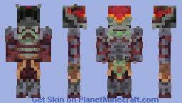 Overwatch-Demon Hunter Genji Minecraft