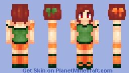 Pumpkin Guts - Mythpilot Minecraft Skin