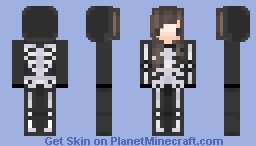 Flera skeleton skin! Minecraft
