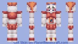 Baby (FNAF Sister Location) Minecraft Skin