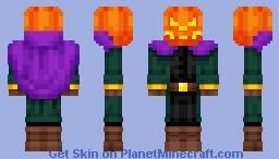 The Headless Horseman Minecraft Skin