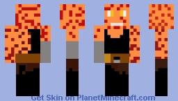 Anakin burnt Minecraft Skin