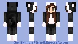Cat Onesie Minecraft Skin