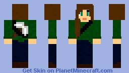Adventurer / Explorer (Girl) Minecraft Skin