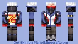 Soldier 76 (Overwatch) Minecraft Skin
