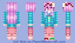 Hata no Kokoro (Touhou 13.5: Hopeless Masquerade) Minecraft Skin