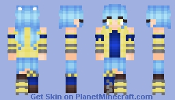 Banana Bubbles - For Addison - Inspired by Leia111 Minecraft Skin