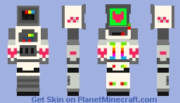 || Heart || Heart and slash || Minecraft Skin